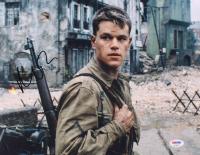 "Matt Damon Signed ""Saving Private Ryan"" 11x14 Photo (PSA COA) at PristineAuction.com"
