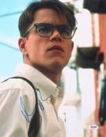 "Matt Damon Signed ""The Talented Mr. Ripley"" 11x14 Photo (PSA COA) at PristineAuction.com"
