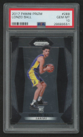 Lonzo Ball 2017-18 Panini Prizm #289 RC (PSA 10) at PristineAuction.com