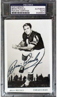 Brian Piccolo Signed Bears 3.5x5.5 Photo (PSA Encapsulated) at PristineAuction.com