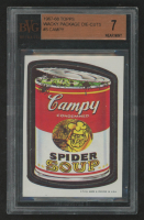 Campy Spider Soup 1967-68 Wacky Packages Die-Cuts #5A (BVG 7) at PristineAuction.com