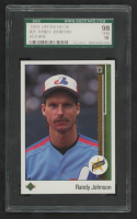 Randy Johnson 1989 Upper Deck #25 RC (SGC 10) at PristineAuction.com