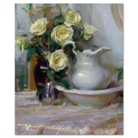 "Dan Gerhartz Signed ""French Lace"" Limited Edition 24x30 Giclee on Canvas at PristineAuction.com"