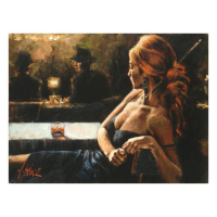 """Fabian Perez Signed """"Cynzia At Las Brujas"""" Hand Textured Limited Edition 12x16 Giclee on Board at PristineAuction.com"""