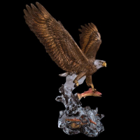 """Kitty Cantrell Engraved """"Clear Waters"""" Limited Edition Mixed Media Lucite Sculpture at PristineAuction.com"""