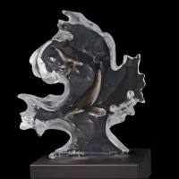 "Kitty Cantrell Signed ""Mother Nature"" Limited Edition Mixed Media Lucite Sculpture at PristineAuction.com"
