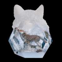 """Kitty Cantrell Engraved """"Devotion"""" Limited Edition Mixed Media Lucite Sculpture at PristineAuction.com"""