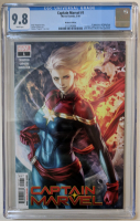 "2019 ""Captain Marvel"" Issue #1 Marvel Comic Book (CGC 9.8) at PristineAuction.com"