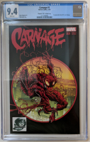 "2015 ""Carnage"" Issue #1 Phantom Variant Marvel Comic Book (CGC 9.4) at PristineAuction.com"