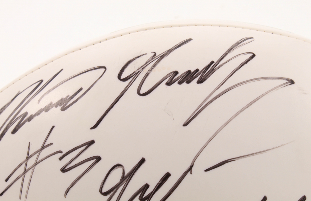 Kevin Grady Signed Michigan Wolverines Logo Football (PSA ...