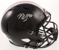 Nick Bosa Signed Ohio State Buckeyes Full-Size Speed Helmet (JSA COA) at PristineAuction.com