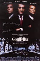 "Henry Hill Signed ""Goodfellas"" 27x40 Movie Poster Inscribed ""Get Your Shinebox"" (PSA COA) at PristineAuction.com"