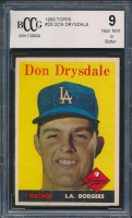 Don Drysdale 1958 Topps #25 (BCCG 9) at PristineAuction.com