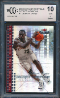 LeBron James 2003-04 Fleer Mystique Secret Weapons #1 RC (BCCG 10) at PristineAuction.com