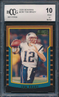 Tom Brady 2000 Bowman #236 RC (BCCG 10) at PristineAuction.com