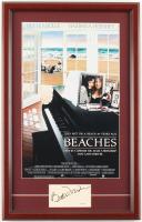 "Bette Midler Signed ""Beaches"" 15x23 Custom Framed Cut Display (JSA SOA) at PristineAuction.com"