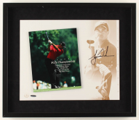Tiger Woods Signed 22x19 Custom Framed Photo Display (UDA Hologram) at PristineAuction.com