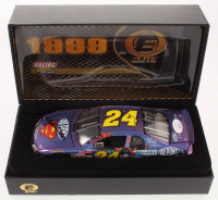 Jeff Gordon Signed LE #24 DuPont / Superman 1999 Monte Carlo Elite 1:24 Scale Die Cast Car (JSA COA) at PristineAuction.com