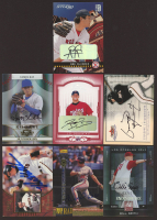 Lot of (7) Baseball Cards with 2004 Studio Private Signings Silver #226 Abe Alvarez, 2008 Donruss Threads #146 Heath Rollins Autograph, 2004 Donruss Classics Significant Signatures Red #188 J.D. Durbin at PristineAuction.com