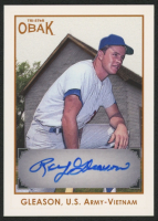 Roy Gleason 2011 TRISTAR Obak Autographs Brown #A16 at PristineAuction.com