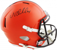 Nick Chubb Signed Browns Full-Size Speed Helmet (Radtke COA) at PristineAuction.com