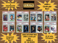 Icon Authentic 400X Mystery Box Series 4 - (400+ Cards per Box) at PristineAuction.com