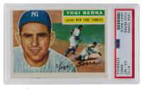 Yogi Berra 1956 Topps #110 (PSA 6) (MC) at PristineAuction.com