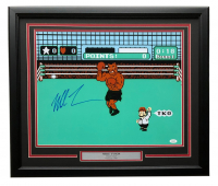 "Mike Tyson Signed ""Punch-Out!!"" 22x27 Custom Framed Photo Display (JSA COA) at PristineAuction.com"