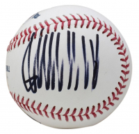 Donald Trump Signed OML Baseball (PSA COA) at PristineAuction.com