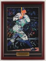 "LeRoy Neiman ""Babe Ruth"" 15.5x20.5 Custom Framed Print Display at PristineAuction.com"