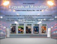 "Always Autographed ""Legends of Wrestling"" Mystery Box at PristineAuction.com"