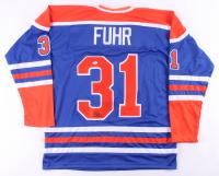 Grant Fuhr Signed Jersey (JSA COA) at PristineAuction.com