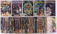 "Complete Set of (102) 1993-2001 ""Catwoman"" DC Comic Books at PristineAuction.com"