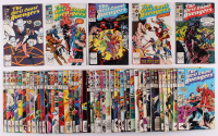 """Lot of (54) 1984-1993 """"West Coast Avengers"""" Marvel Comic Books at PristineAuction.com"""