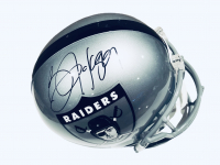 Bo Jackson Signed Raiders Full-Size Throwback Helmet (Beckett COA) at PristineAuction.com