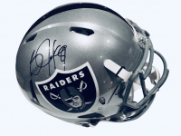 Bo Jackson Signed Raiders Full-Size Authentic On-Field Speed Helmet (Beckett COA) at PristineAuction.com