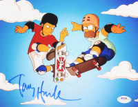 "Tony Hawk Signed ""The Simpsons"" 8x10 Photo (PSA Hologram) at PristineAuction.com"