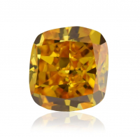 .50ct Fancy Deep Brownish Orangy Yellow Loose Diamond (GIA Certified) at PristineAuction.com