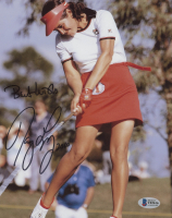 """Nancy Lopez Signed 8x10 Photo Inscribed """"Best Wishes"""" & """"2010"""" (Beckett COA) at PristineAuction.com"""