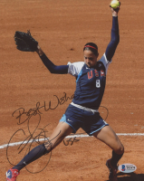 """Cat Osterman Signed Team USA 8x10 Photo Inscribed """"Best Wishes!"""" & """"USA"""" (Beckett COA) at PristineAuction.com"""