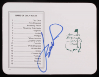 Jordan Spieth Signed Masters Augusta National Golf Club 5x6 Scorecard (PSA COA) at PristineAuction.com