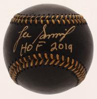 "Lee Smith Signed OML Black Leather Baseball Inscribed ""HOF 2019"" (JSA COA) at PristineAuction.com"
