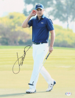 Jordan Spieth Signed 11x14 Photo (PSA COA) at PristineAuction.com