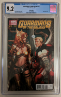 """2014 """"Guardians of the Galaxy"""" Issue #12 Dale Keown 1:50 Variant Marvel Comic Book (CGC 9.2) at PristineAuction.com"""