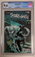 "2017 ""Spider-Gwen"" Issue #24 Paolo Siquiera Venomized Vulture Variant Marvel Comic Book (CGC 9.6) at PristineAuction.com"