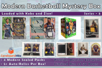 Cardboard Hits Modern Mystery Box Series 5 - Basketball Edition at PristineAuction.com