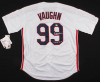 "Charlie Sheen Signed ""Major League"" Indians Jersey Inscribed ""Wild Thing"" (PSA Hologram) at PristineAuction.com"