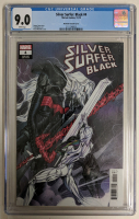 "2019 ""Silver Surfer Black"" Issue #4 Peach Momoko 1:25 Variant Marvel Comic Book (CGC 9.0) at PristineAuction.com"