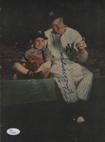 Joe DiMaggio Signed 8x11 Magazine Page (JSA LOA) at PristineAuction.com