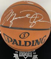Michael Jordan & Julius Erving Signed Spalding Basketball (UDA COA) at PristineAuction.com